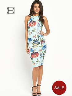ax-paris-tropical-floral-cut-in-midi-dress