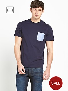 fred-perry-mens-patch-pocket-t-shirt