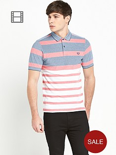 fred-perry-mens-stripe-piqueacute-polo-shirt