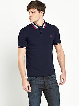 Fred Perry Bold Tipped Polo Shirt