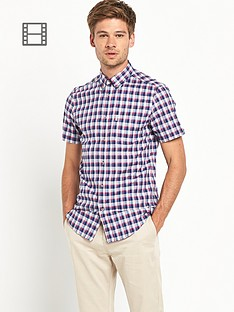 ben-sherman-mens-short-sleeved-checked-shirt