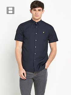 lyle-scott-mens-short-sleeve-poplin-shirt