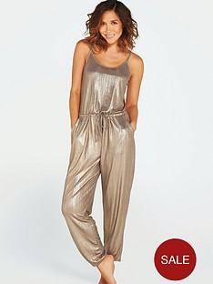 myleene-klass-metallic-beach-jumpsuit