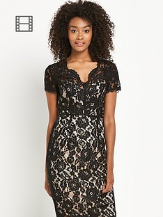 definitions-sweetheart-neck-lace-dress