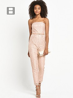 definitions-petite-lace-bandeau-jumpsuit
