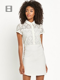 definitions-lace-shirt-dress