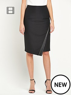 definitions-zip-detail-skirt