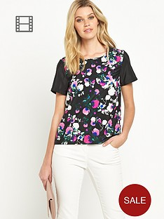definitions-large-floral-boxy-top