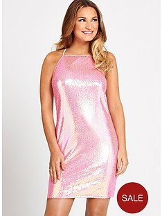 samantha-faiers-sequin-mini-dress