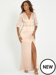rochelle-humes-embellished-maxi-dress