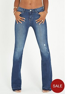 rochelle-humes-kick-flare-jeans