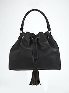 tassel-detail-slouch-shoulder-bag