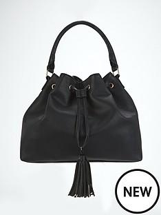 tassel-detail-slouch-shoulder-bag