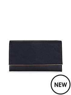 metal-bar-detail-textured-clutch-bag