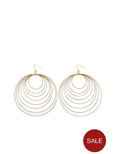 multi-spiral-hoop-earrings