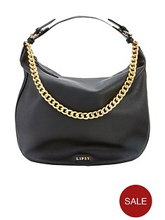 lipsy-chain-detail-hobo-bag