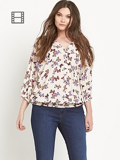so-fabulous-butterfly-print-shirred-hem-gypsy-blouse
