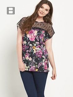 so-fabulous-eyelash-lace-sleeve-print-top