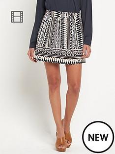 vero-moda-lulu-skater-print-skirt