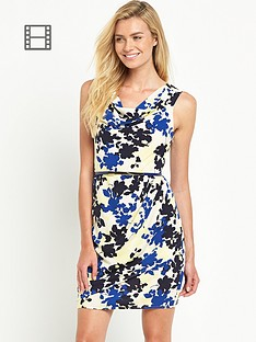 oasis-shadow-floral-lola-cowl-crepe-dress