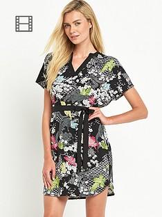 oasis-falling-leaf-print-dress