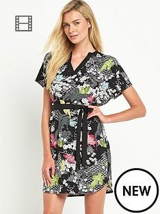 oasis-falling-leaf-print-midi-dress