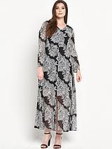 Split Front Maxi Dress