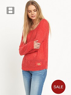 superdry-aphrodite-knit-jumper-red
