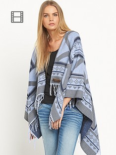 superdry-kaya-blanket-grey-marl