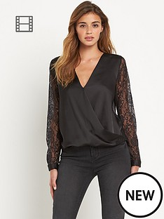 lipsy-michelle-keegan-lace-back-wrap-blouse