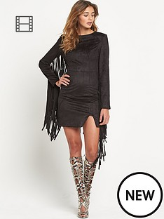 lavish-alice-faux-suede-fringed-detail-mini-dress