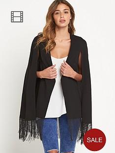 lavish-alice-tassel-hem-cape-blazer