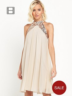 lipsy-chiffon-jewel-neck-dress