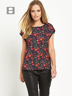 ted-baker-cherry-layered-open-back-top