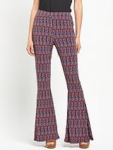 Jersey Kickflare Trousers