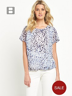 south-bubble-hem-blouse
