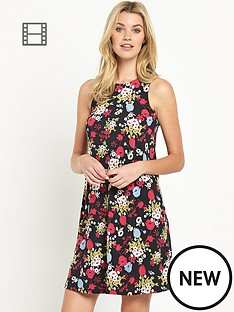 south-floral-jersey-sleeveless-swing-dress