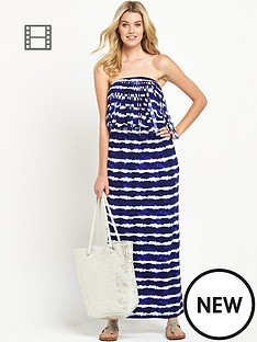 south-petite-fringe-tie-dye-maxi-dress