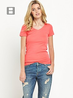 south-jersey-ribbed-v-neck-t-shirt