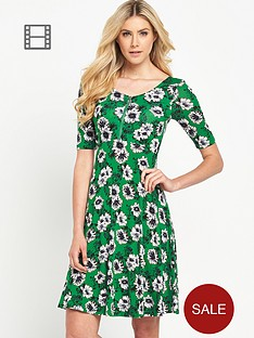 south-jersey-floral-zip-front-skater-dress