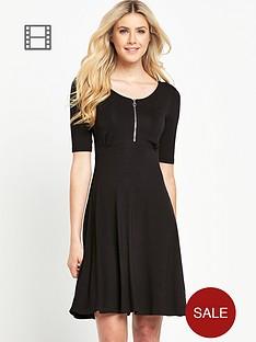 south-zip-front-skater-dress