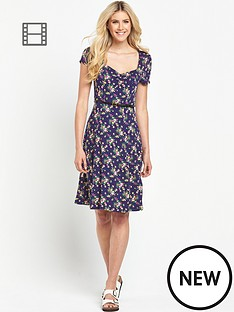 south-floral-print-tea-dress