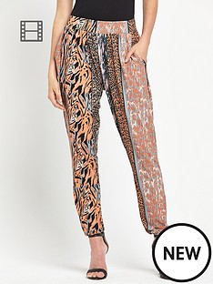 definitions-jersey-animal-printed-trousers