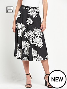 definitions-mono-print-full-skirt