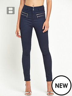 south-highwaisted-double-zip-skinny-trousers