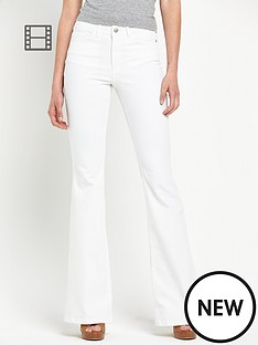 south-white-kickflare-jeans