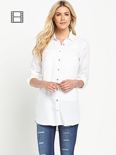 south-white-shirt