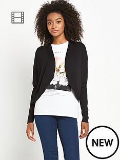 south-shawl-collar-short-cardigan