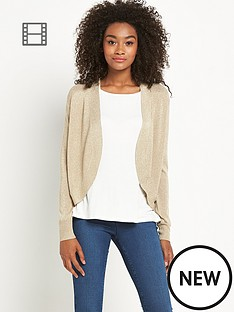 south-shawl-collar-short-cardigan