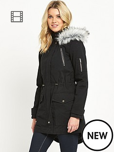 south-pu-trim-faux-fur-parka